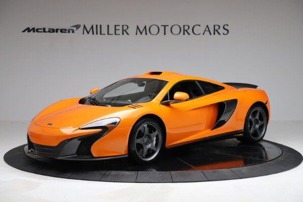 Used 2015 McLaren 650S LeMans for sale $269,990 at Bugatti of Greenwich in Greenwich CT 06830 1