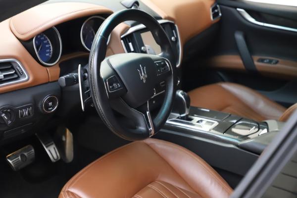 Used 2014 Maserati Ghibli S Q4 for sale $29,900 at Bugatti of Greenwich in Greenwich CT 06830 14