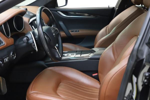 Used 2014 Maserati Ghibli S Q4 for sale $29,900 at Bugatti of Greenwich in Greenwich CT 06830 15