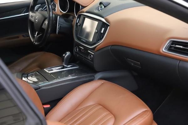 Used 2014 Maserati Ghibli S Q4 for sale $29,900 at Bugatti of Greenwich in Greenwich CT 06830 19