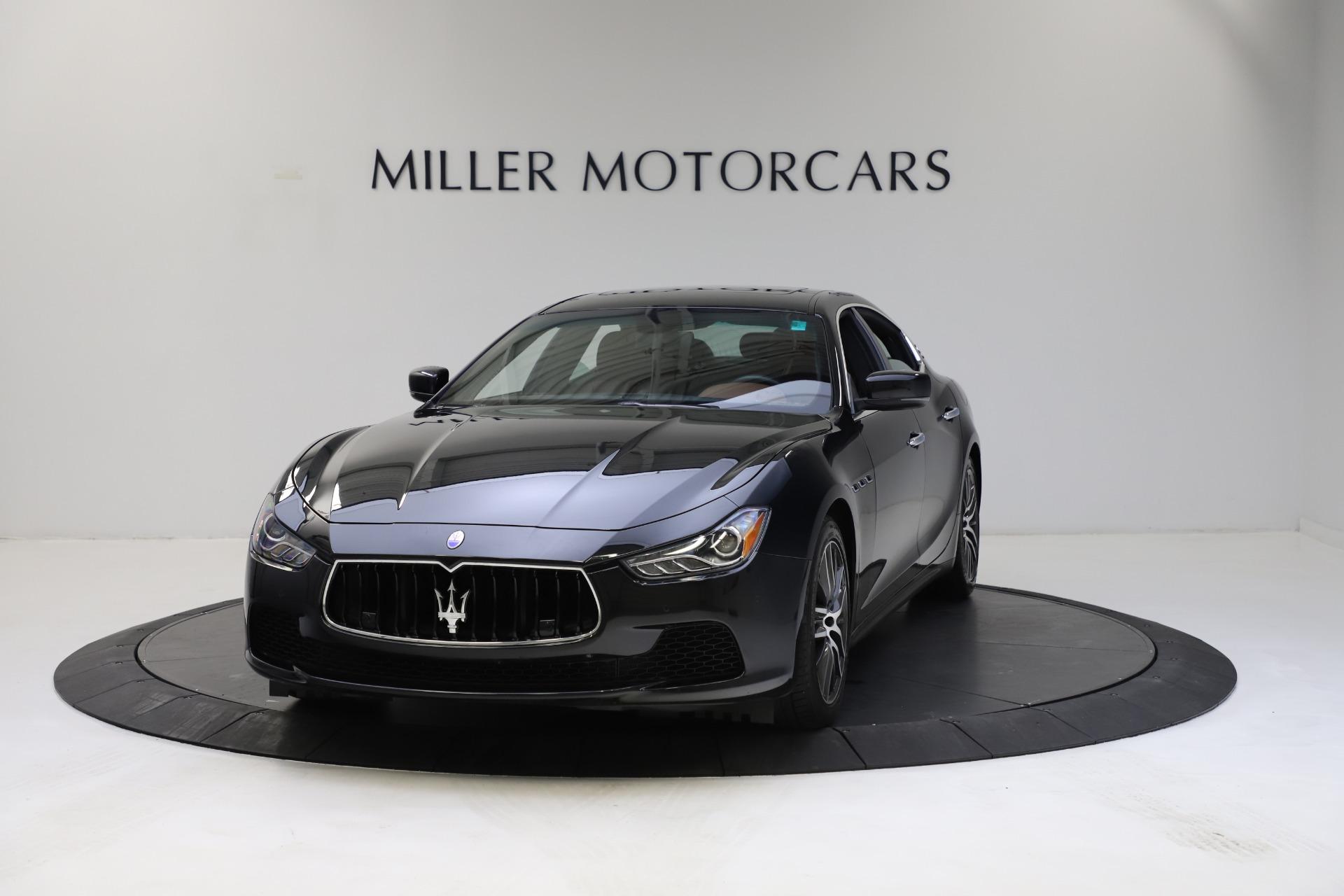 Used 2014 Maserati Ghibli S Q4 for sale $29,900 at Bugatti of Greenwich in Greenwich CT 06830 1