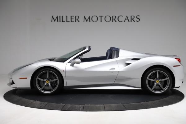 Used 2017 Ferrari 488 Spider for sale $284,900 at Bugatti of Greenwich in Greenwich CT 06830 3