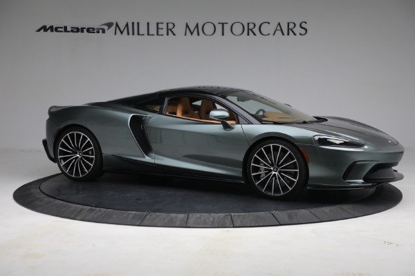 Used 2021 McLaren GT LUXE for sale Sold at Bugatti of Greenwich in Greenwich CT 06830 10