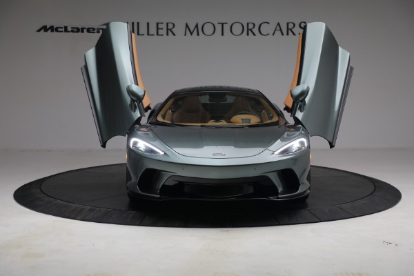 Used 2021 McLaren GT LUXE for sale Sold at Bugatti of Greenwich in Greenwich CT 06830 13
