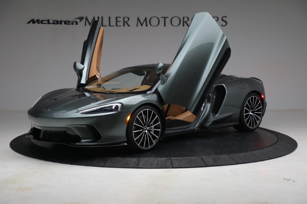 Used 2021 McLaren GT LUXE for sale Sold at Bugatti of Greenwich in Greenwich CT 06830 14