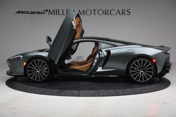 Used 2021 McLaren GT LUXE for sale Sold at Bugatti of Greenwich in Greenwich CT 06830 15