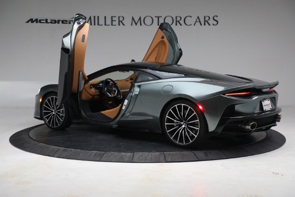 Used 2021 McLaren GT LUXE for sale Sold at Bugatti of Greenwich in Greenwich CT 06830 16