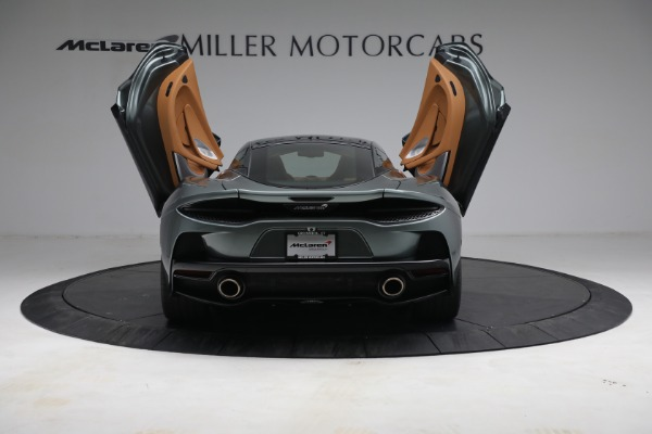 Used 2021 McLaren GT LUXE for sale Sold at Bugatti of Greenwich in Greenwich CT 06830 17