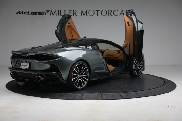 Used 2021 McLaren GT LUXE for sale Sold at Bugatti of Greenwich in Greenwich CT 06830 18