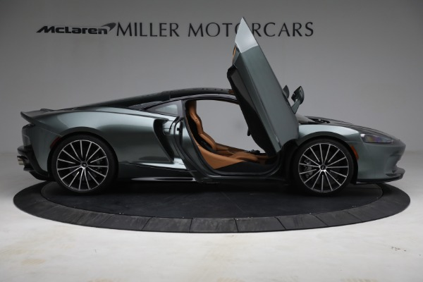 Used 2021 McLaren GT LUXE for sale Sold at Bugatti of Greenwich in Greenwich CT 06830 19