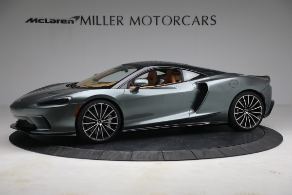 New 2021 McLaren GT LUXE for sale $214,005 at Bugatti of Greenwich in Greenwich CT 06830 2