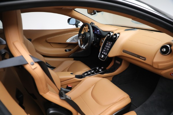 Used 2021 McLaren GT LUXE for sale Sold at Bugatti of Greenwich in Greenwich CT 06830 27