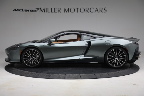 Used 2021 McLaren GT LUXE for sale Sold at Bugatti of Greenwich in Greenwich CT 06830 3