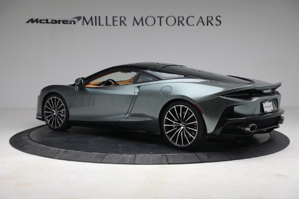 New 2021 McLaren GT LUXE for sale $214,005 at Bugatti of Greenwich in Greenwich CT 06830 4