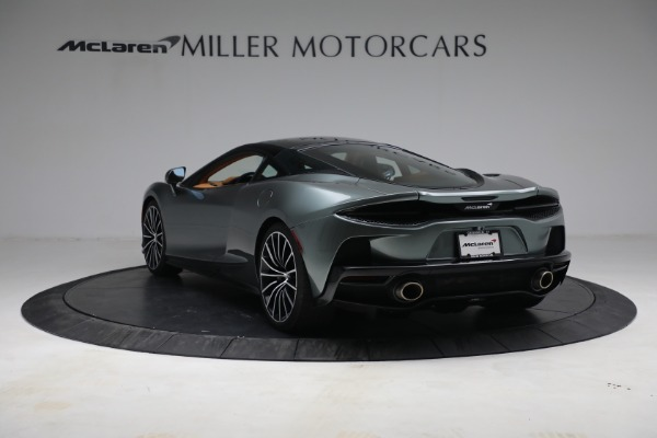 New 2021 McLaren GT LUXE for sale $214,005 at Bugatti of Greenwich in Greenwich CT 06830 5