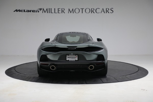 Used 2021 McLaren GT LUXE for sale Sold at Bugatti of Greenwich in Greenwich CT 06830 6