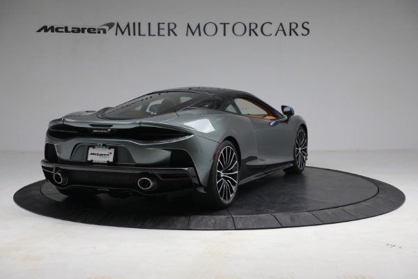 Used 2021 McLaren GT LUXE for sale Sold at Bugatti of Greenwich in Greenwich CT 06830 7