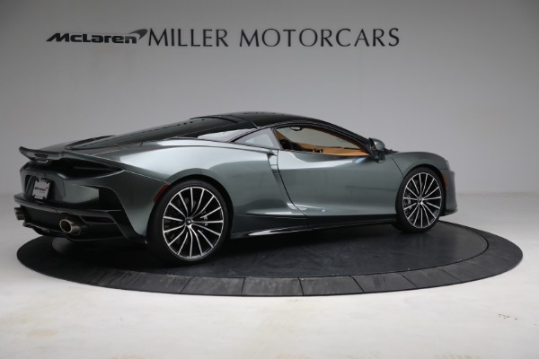 Used 2021 McLaren GT LUXE for sale Sold at Bugatti of Greenwich in Greenwich CT 06830 8