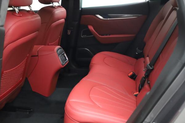 New 2021 Maserati Levante S Q4 GranLusso for sale $105,549 at Bugatti of Greenwich in Greenwich CT 06830 18