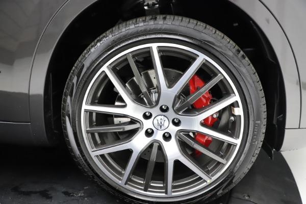 New 2021 Maserati Levante S Q4 GranLusso for sale $105,549 at Bugatti of Greenwich in Greenwich CT 06830 26