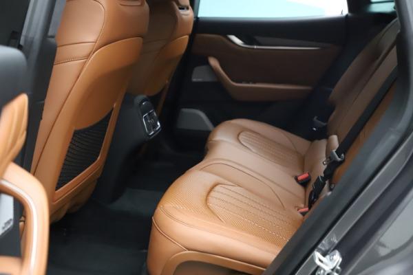 New 2021 Maserati Levante S Q4 GranSport for sale $114,485 at Bugatti of Greenwich in Greenwich CT 06830 21