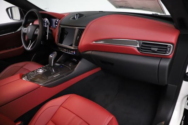 New 2021 Maserati Levante Q4 GranSport for sale $96,235 at Bugatti of Greenwich in Greenwich CT 06830 20
