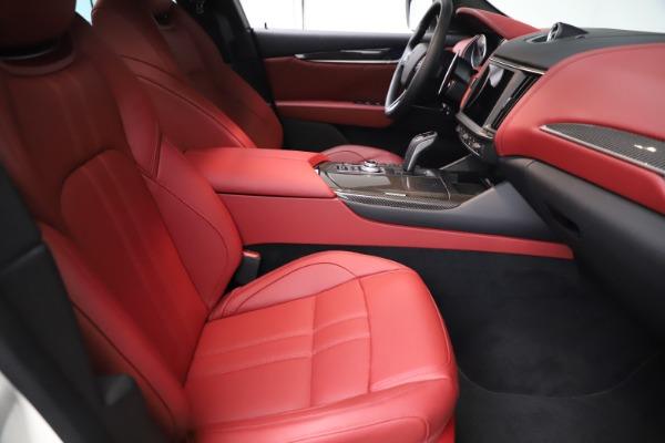 New 2021 Maserati Levante Q4 GranSport for sale $96,235 at Bugatti of Greenwich in Greenwich CT 06830 21