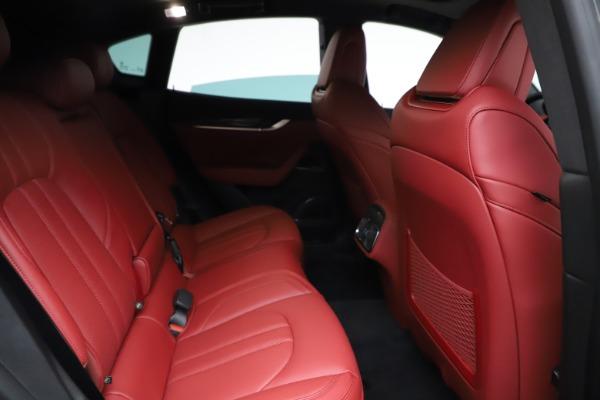 New 2021 Maserati Levante Q4 GranSport for sale $96,235 at Bugatti of Greenwich in Greenwich CT 06830 23