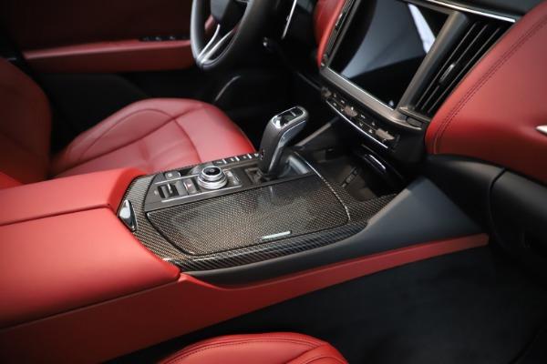 New 2021 Maserati Levante Q4 GranSport for sale $96,235 at Bugatti of Greenwich in Greenwich CT 06830 24