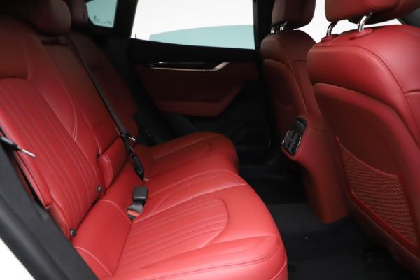 New 2021 Maserati Levante Q4 for sale Call for price at Bugatti of Greenwich in Greenwich CT 06830 23