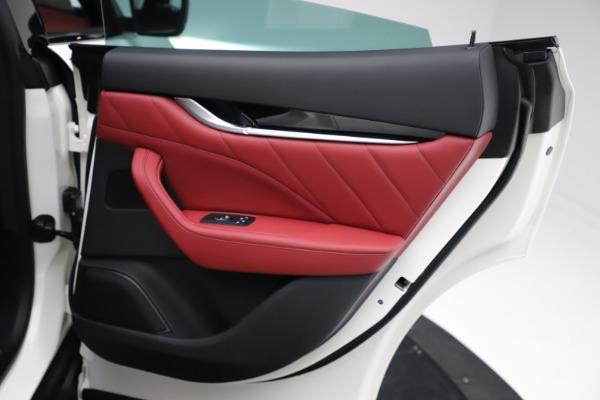 New 2021 Maserati Levante Q4 for sale Call for price at Bugatti of Greenwich in Greenwich CT 06830 24