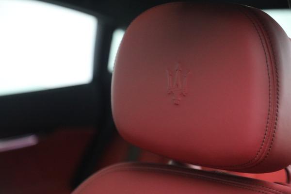 New 2021 Maserati Quattroporte S Q4 for sale $119,589 at Bugatti of Greenwich in Greenwich CT 06830 21
