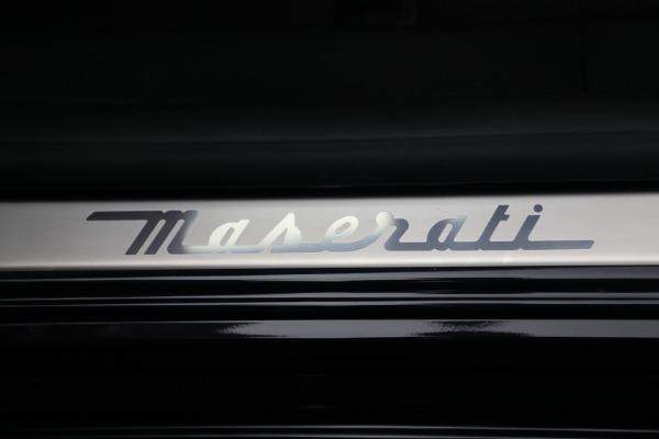 New 2021 Maserati Quattroporte S Q4 for sale $119,589 at Bugatti of Greenwich in Greenwich CT 06830 22