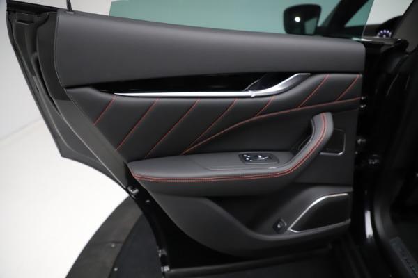 New 2021 Maserati Levante Q4 GranSport for sale $92,735 at Bugatti of Greenwich in Greenwich CT 06830 21