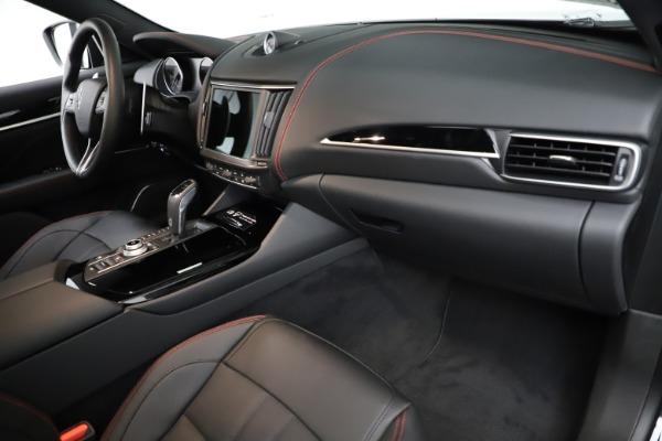 New 2021 Maserati Levante Q4 GranSport for sale $92,735 at Bugatti of Greenwich in Greenwich CT 06830 22