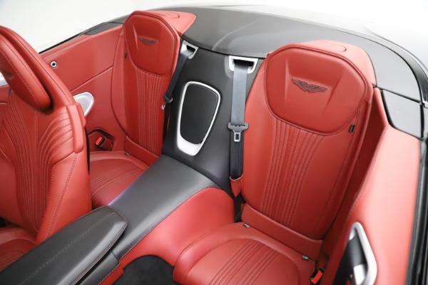 Used 2019 Aston Martin DB11 Volante for sale $211,990 at Bugatti of Greenwich in Greenwich CT 06830 17