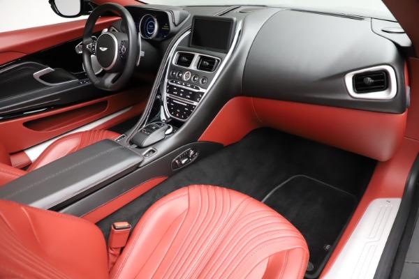 Used 2019 Aston Martin DB11 Volante for sale $211,990 at Bugatti of Greenwich in Greenwich CT 06830 18