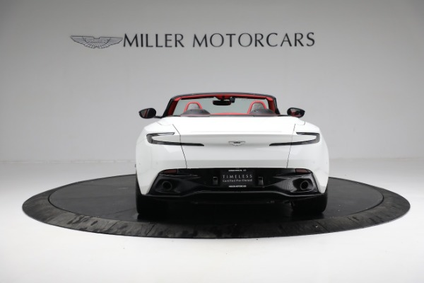 Used 2019 Aston Martin DB11 Volante for sale $209,990 at Bugatti of Greenwich in Greenwich CT 06830 5