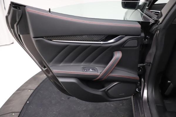 New 2021 Maserati Ghibli S Q4 GranSport for sale $100,635 at Bugatti of Greenwich in Greenwich CT 06830 21