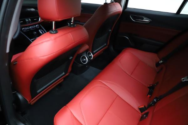New 2021 Alfa Romeo Giulia Q4 for sale $48,535 at Bugatti of Greenwich in Greenwich CT 06830 19