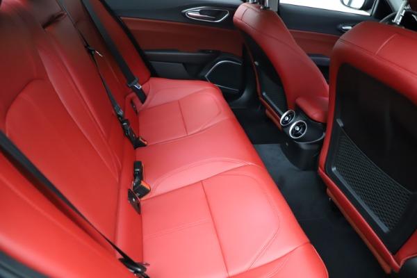 New 2021 Alfa Romeo Giulia Q4 for sale $48,535 at Bugatti of Greenwich in Greenwich CT 06830 26