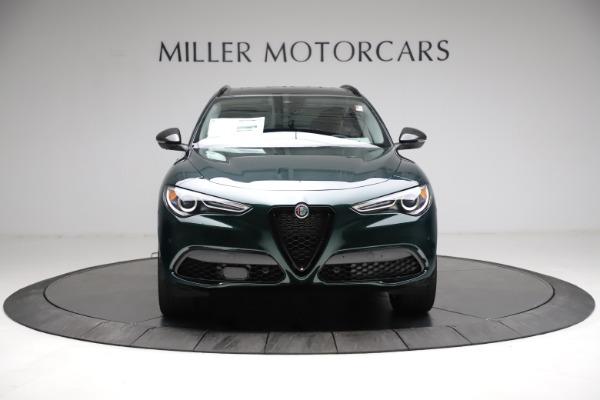 New 2021 Alfa Romeo Stelvio Ti Q4 for sale $53,650 at Bugatti of Greenwich in Greenwich CT 06830 12