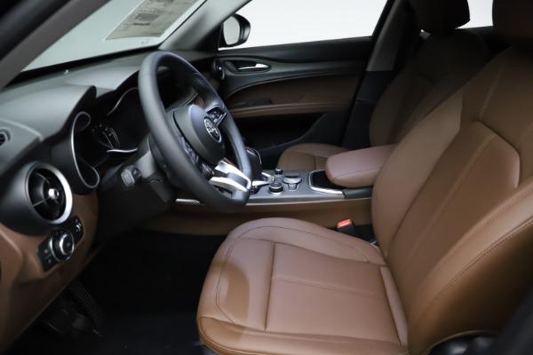 New 2021 Alfa Romeo Stelvio Ti Q4 for sale $53,650 at Bugatti of Greenwich in Greenwich CT 06830 14