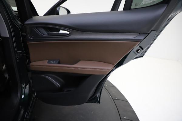 New 2021 Alfa Romeo Stelvio Ti Q4 for sale $53,650 at Bugatti of Greenwich in Greenwich CT 06830 24