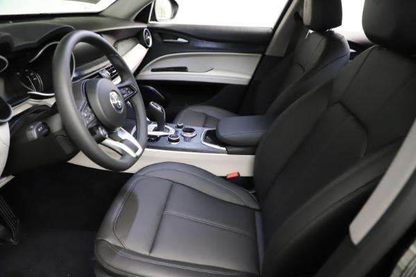 New 2021 Alfa Romeo Stelvio Q4 for sale $50,245 at Bugatti of Greenwich in Greenwich CT 06830 14