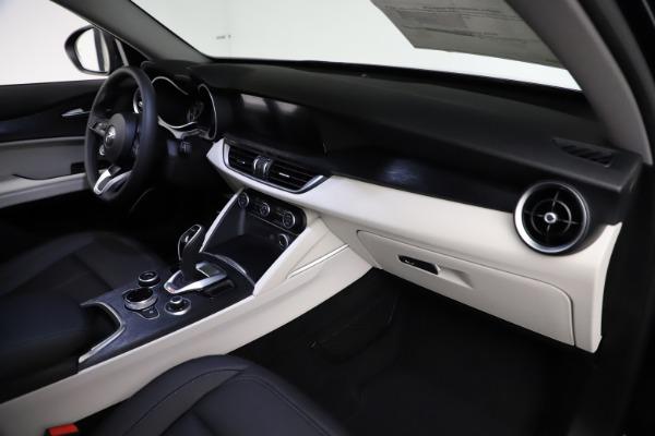 New 2021 Alfa Romeo Stelvio Q4 for sale $50,245 at Bugatti of Greenwich in Greenwich CT 06830 22