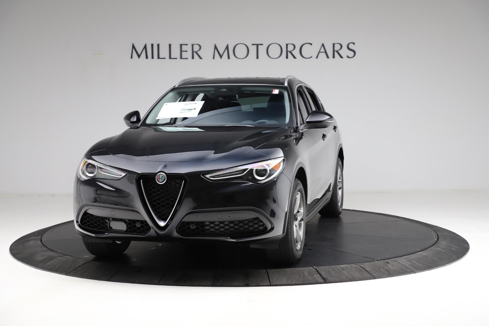 New 2021 Alfa Romeo Stelvio Q4 for sale $50,245 at Bugatti of Greenwich in Greenwich CT 06830 1