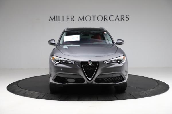 New 2021 Alfa Romeo Stelvio Ti Q4 for sale $55,500 at Bugatti of Greenwich in Greenwich CT 06830 13