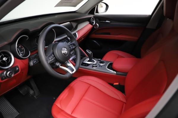 New 2021 Alfa Romeo Stelvio Ti Q4 for sale $55,500 at Bugatti of Greenwich in Greenwich CT 06830 14