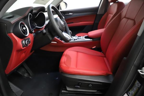 New 2021 Alfa Romeo Stelvio Ti Q4 for sale $55,500 at Bugatti of Greenwich in Greenwich CT 06830 16